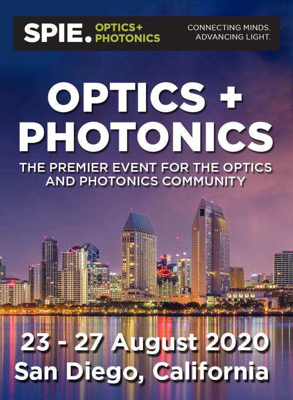 SPIE Optics Photonics 2020